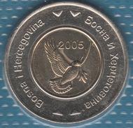 Bosna I Hercegovina 5 KM 2005 KM# 120 Bi-métallique Dove Of Peace - Bosnia And Herzegovina