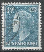 Luxembourg 1948. Scott #255 (U) Grand Duchess Charlotte - 1948-58 Charlotte De Profil à Gauche