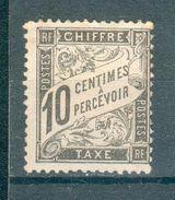 FRANCE ; Taxes ; 1881-92 ; Y&T N° 15 ; Lot :  ; Neuf - 1859-1955 Neufs