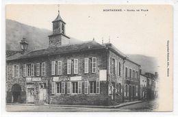 Cpa Monthermé - Hôtel De Ville . - Montherme