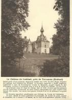 Leefdaal Le Château De Leefdael, Près De Tervueren (Brabant) Nels - Bertem