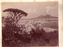 Foto Albumina Napoli Il Vesuvio - Foto