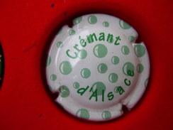 * Capsule De Crémant D'ALSACE * - Unclassified