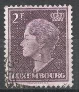Luxembourg 1948. Scott #257 (U) Grand Duchess Charlotte - 1948-58 Charlotte De Profil à Gauche