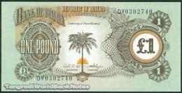 TWN - BIAFRA 5a - 1 Pound 1968-69 Prefix DV UNC - Banconote