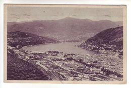 Como - Panorama Visto Da Monte Croce - Como