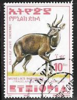 Ethiopia, Scott # 1555 Used Bushbuck, 2000 - Ethiopia