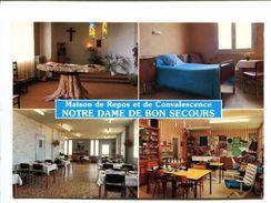 Cp - LA GUERINIERE (85) - Notre Dame De Bon Secours - Maison De Repos Et De Convalescence - France