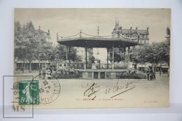 Old Postcard France - Beziers - Le Kiosque à Musique, M. Pons Photo. Posted - Beziers