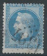 Lot N°37374   Variété/n°29, Oblit GC 1397 EPERNAY (49), Piquage, Bord De Feuille - 1863-1870 Napoleon III With Laurels