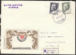 Yugoslavia Djakovo 1973 / Djakovacki Vezovi / Dakovo Embroidery / Craft Company - Lettres & Documents