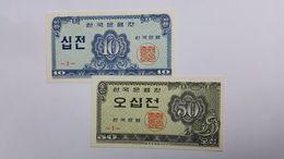 COREA DEL SUD 10 JEON / 20 JEON - Corea Del Sud