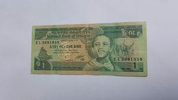 ETIOPIA 1 BIRR - Etiopia