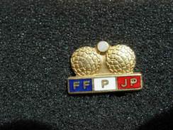 PIN'S  PETANQUE FF P PJ - Pétanque
