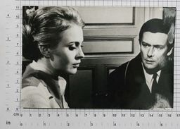 MAURICE RONET And JEAN SEBERG (1966) - Vintage PHOTO REPRINT (AP-68) - Reproductions