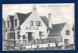 La Panne. Taverne Flamande In De Klok. 1907 - De Panne