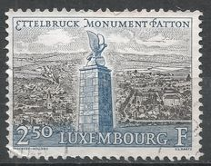 Luxembourg 1961. Scott #381 (U) General Patton Monument - Luxembourg