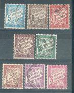 FRANCE ; Taxes ; 1893-1935 ; Y&T N° ; Lot : 012 Type II  ; Oblitéré - 1859-1955 Oblitérés
