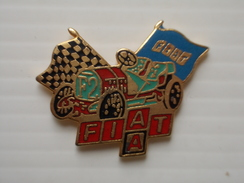 Pin's émail Grand Feu - FIAT - - Fiat