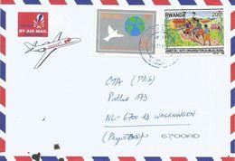 Rwanda 2003 Cyangugu Dove Peace Year Agriculture Cover - Rwanda
