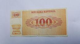 SLOVENIA 100 TOLARJEV - Slovenia