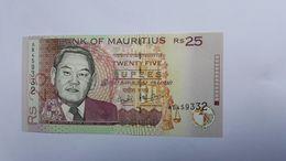 MAURITIUS 25 RUPEES 1999 - Maurice
