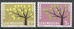 Luxembourg 1962. Scott #386-7 (MNH) Europa CEPT - Neufs