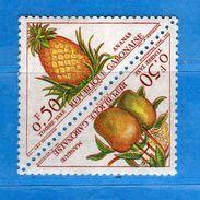 (MN1)  GABON**-1962 - TAXE - FRUITS - YV. 34-35.  MNH. Vedi Descrizione - Gabon (1960-...)