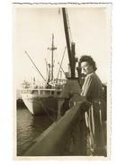 1948 - Anvers - Carte Photo - Port - Paquebot Albertville - Voir Scans - Antwerpen