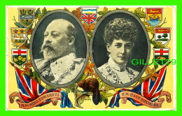 FAMILLES ROYALES - H. M. KING EDWARD VII & H. M. QUEEN ALEXANDRA - THE PRUDENTIAL INSURANCE CO OF AMERICA - - Royal Families