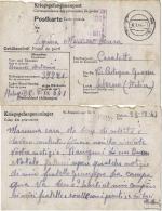 CARTOLINA POW CAMP STALAG III-C ALT - DREWITZ POLAND 1944 CASALETTO SPARTANO - Posta Militare (PM)