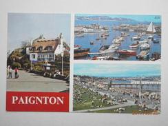 Postcard Paignton Devon Multiview By Europa Cards My Ref  B11675 - Paignton