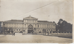 Cambodge (?) - Photographie Fin XIXème -  Gare (?) - Palais Gouvernemental ? - Cambodge
