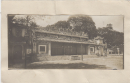 Cambodge (?) - Thailand (?) Photographie Fin XIXème -  Gare (?) - Palais Pagode ? - Cambodge