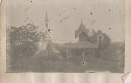 Cambodge (?) - Thailand (?) Photographie Fin XIXème - Pagodes - Cambodge