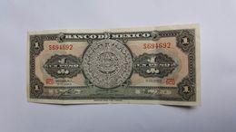 MESSICO 1 PESO 1965 - Mexique