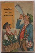 Pub. Humoristique/Centre Thermal De Mondorf Les Bains/Luxembourg/Les Effets De L'eau De MONDORF/vers1930-50      CPH26 - Publicités