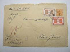 1917 , Ganzsache   Als Wertbrief  Aus Pflaumloch - Wuerttemberg