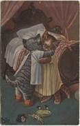 KATZEN-Umarmung 1911 - O Schmerz Lass Nach - Arthur Thiele - Thiele, Arthur