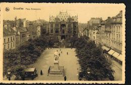 BRUXELLES  - Place Anneessens - Voyagée   Scans Recto Verso-Paypal Free - Squares