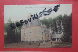 Cp Volandry Le Chateau De Turbilly Couleur Animé - France