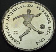 SAO TOME' E PRINCE 1000 DOBRAS 1994 MONDIALI DI CALCIO   PROOF - Santo Tomé Y Príncipe