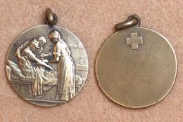 Médaille Commémorative 06_WW1, Première Guerre Mondiale 1914-1918_soins Aux Blessés - Belgique