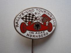 - Epinglette. Rallye-Und Touring-Club Nurnberg  - - Voitures (Courses)