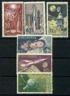 TCHECOSLOVAQUIE  ( POSTE ) : Y&T N°  1208/1213 ,  TIMBRES  NEUFS  SANS  TRACE  DE  CHARNIERE , A VOIR . - Czechoslovakia