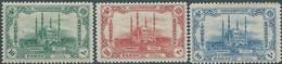 TURCHIA -TURKEY-TURKISH -Impero Ottomano - 1913 OTTOMANI-OSMANI -  The Recapture Of Adrianople - 10 - 20 - 40 P - MNH - 1858-1921 Impero Ottomano