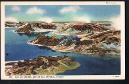 CALIFORNIA - U.S.A - Original Postcard- Mud Volcanoes,Salton Sea,Imperial Valley - Recto Verso- Paypal Free - Altri
