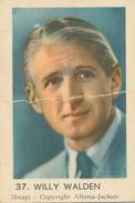 Maple Leaf, Nederlandse Radiosterren,Willy Walden, 37 - Andere Verzamelingen