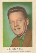 Maple Leaf, Nederlandse Radiosterren,Toby Rix, 49 - Andere Verzamelingen