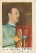 Maple Leaf, Nederlandse Radiosterren, Coen Van Orsouw, 59 - Andere Verzamelingen